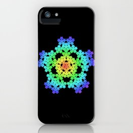 Pentaflake iPhone Case