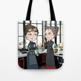 Woman in Science: The Curies Tote Bag