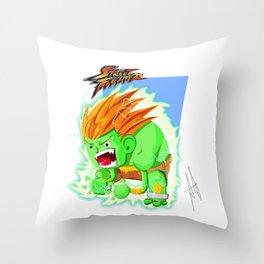 STREET FIGHTER - BLANCA Throw Pillow