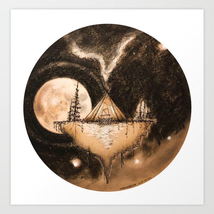 NIICH-My Home Kunstdrucke