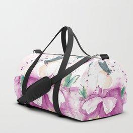 Ballerina with Butterflies Duffle Bag