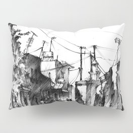Rhodes backalley Pillow Sham