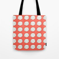 sisters Tote Bags featuring Sisters by bakuta