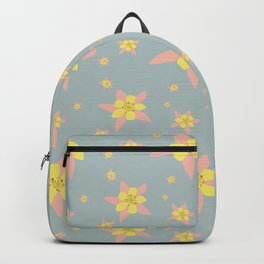 Columbines Scattered Backpack
