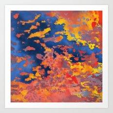 Sunset to Sunrise Art Print