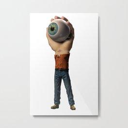 The Hand-Eye-Man Metal Print