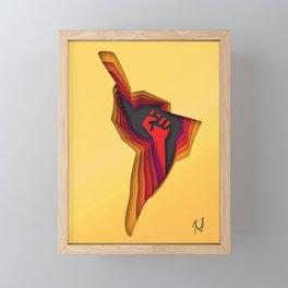 Latinamerica resists Framed Mini Art Print