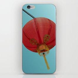 Chinese Lantern in Chinatown LA iPhone Skin