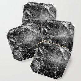 Enigmatic Black Marble #1 #decor #art #society6 Coaster