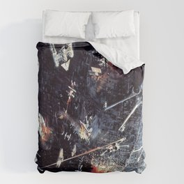 Concept Space Battle (Supplemental) Comforters