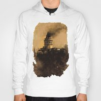 istanbul Hoodies featuring istanbul  by Atalay Mansuroğlu