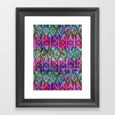 Amelie {Pattern 6B} Framed Art Print