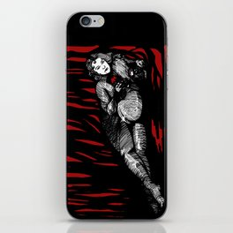 Lilith in red iPhone Skin