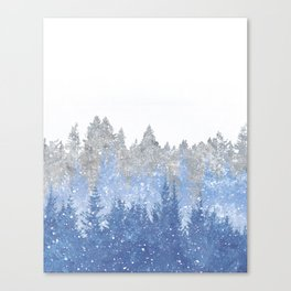 Study in Solitude Canvas Print
