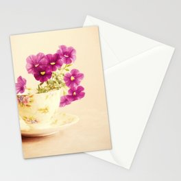 Mini Petunias Stationery Cards