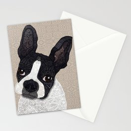 Boston Terrier 2015 Stationery Cards