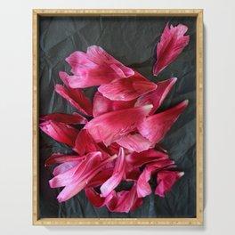 Pink Petals Serving Tray