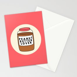 Peanut Butter Lover Stationery Cards