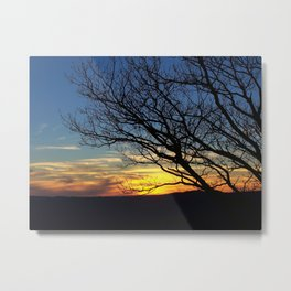 Shenandoah Sunset Metal Print