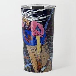 """""""Baba Yaga"""" the Witch by Ivan Bilibin Travel Mug"""