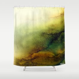 """Free Light II"" Shower Curtain"
