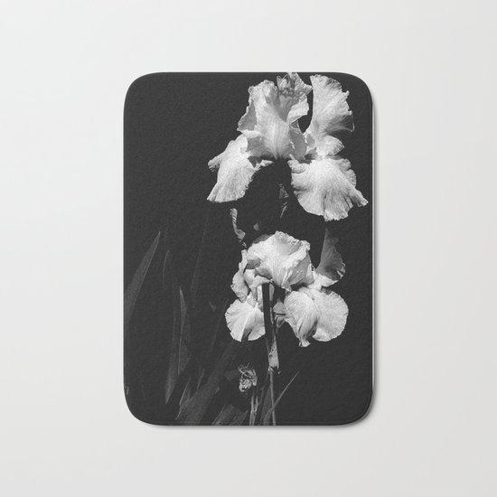 White Iris, Messenger Between Heaven And Earth Bath Mat