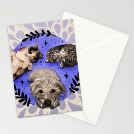 Settle Pets! Stationery Cards