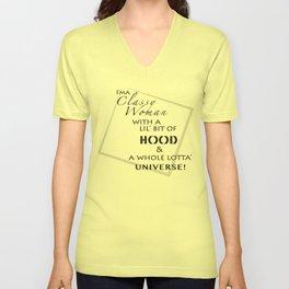 Classy HOOD Universe Unisex V-Neck