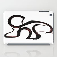 dino iPad Cases featuring Dino by Je Nie Fleming