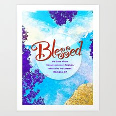 Blessed! Art Print