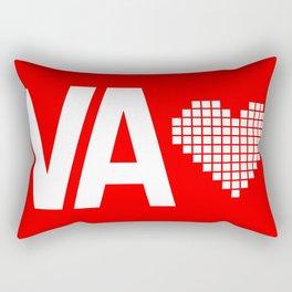 Virginia Love Rectangular Pillow