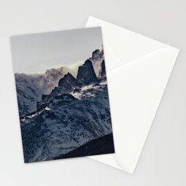 Rocky Mountain Winter Stationery Cards