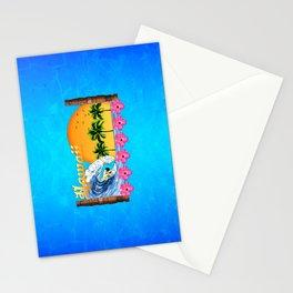 Hawaiian Surfing Stationery Cards