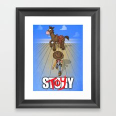 Toykira Framed Art Print