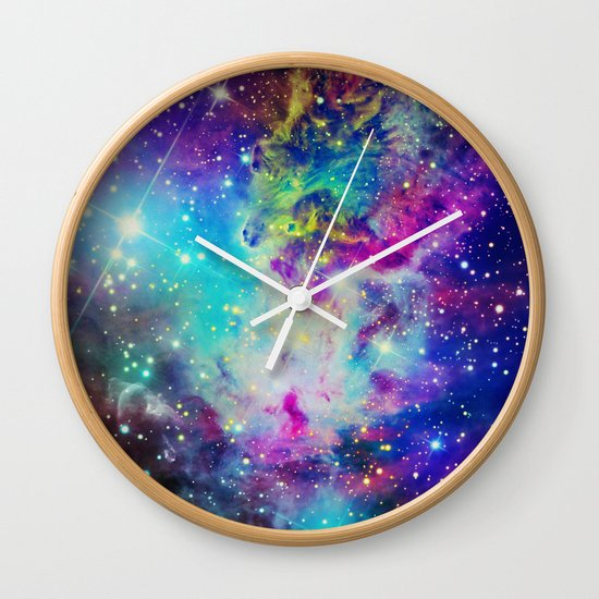 Fox Nebula Wall Clock
