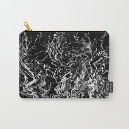 Design 155 Black White Abstract Carry-All Pouch