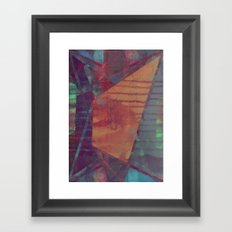 disquiet eighteen (forbidden colors) Framed Art Print