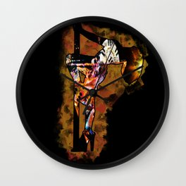 The Lap Dancer Wall Clock