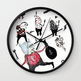Minis Johnson Wall Clock
