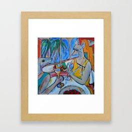 My Summer in Provence Framed Art Print