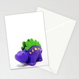 Happy Purple Dinosaur Stationery Cards