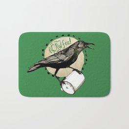 Crows Love CAW-FEE Bath Mat