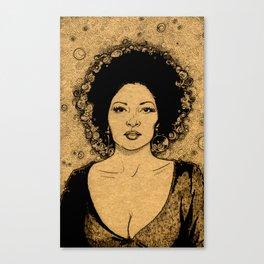 Ms Grier Canvas Print