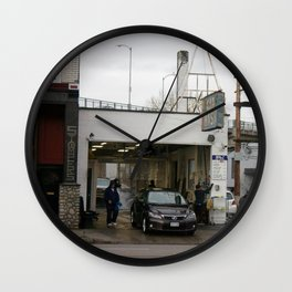 Car Wash Wall Clock