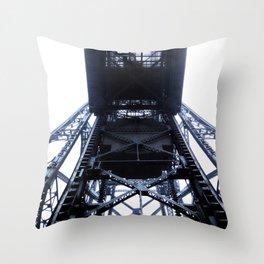 Foggy Lift #4 Throw Pillow