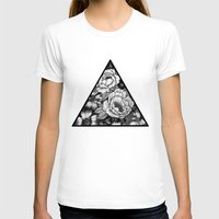 triangle T-shirts featuring Triangle by adroverart