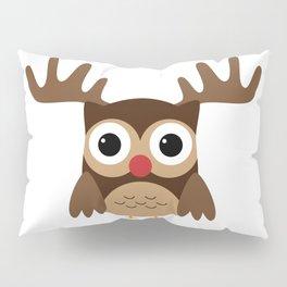 Reindeer Owl Pillow Sham