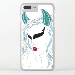Taurus / 12 Signs of the Zodiac Clear iPhone Case