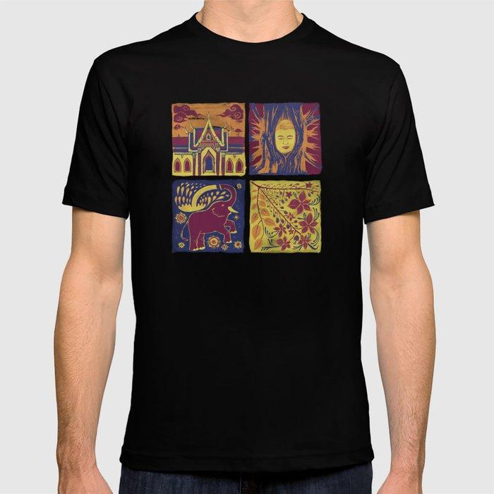 Thailand Tile Arts T-shirt