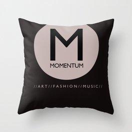 Momentum Magazine Logo Throw Pillow